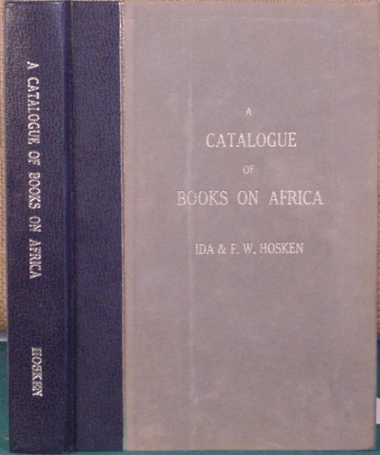 Catalogue of African Books