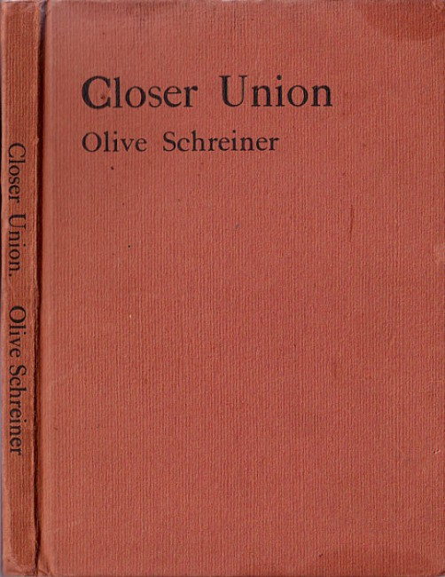 Closer Union - Inscribed by author