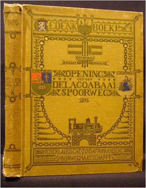 N.Z.A.S.M. (NEDERLANDSCHE ZUID-AFRIKAANSCHE SPOORWEGMAATSCHAPPIJ), Gendenkboek
