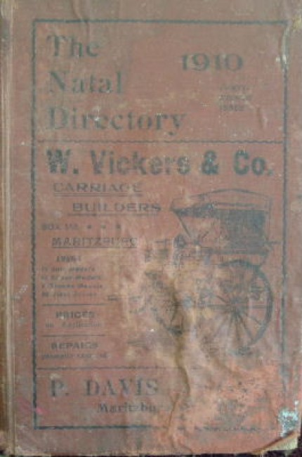 The Natal Directory, 1910