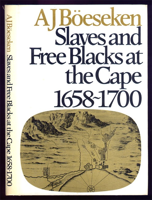 SLAVES AND FREE BLACKS AT THE CAPE 1658-1700