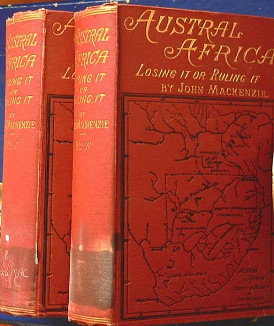 AUSTRAL AFRICA - Losing it or Ruling it. 1887 1st Ed.