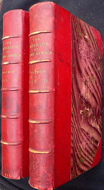 TRAVELS IN THE INTERIOR OF SOUTH AFRICA - 2 vols. 1867. 1st Ed.