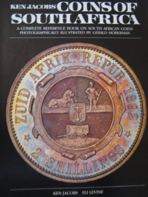 Coins of South Africa (numbered and signed edition; 1983)  (from the library of Andre Bezuidenhout)