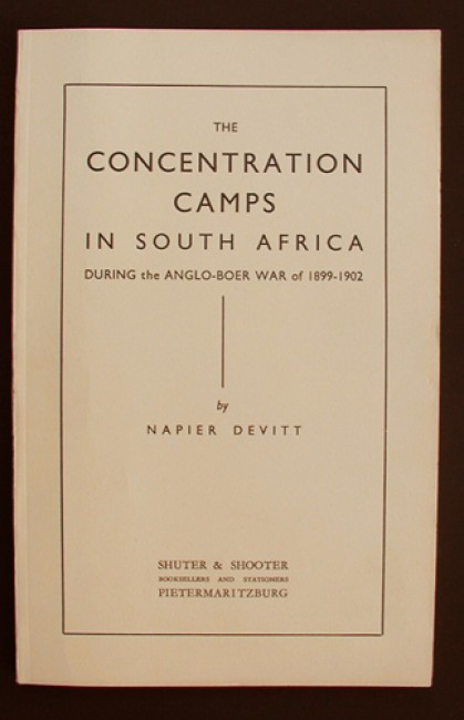 The Concentration Camps in South Africa
