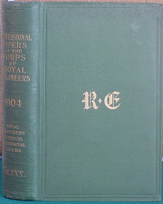 Professional Papers of the Corps of the Royal Engineers
