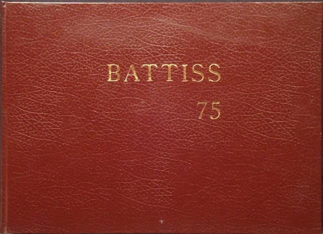 BATTISS 75 (With signed silk screen print)