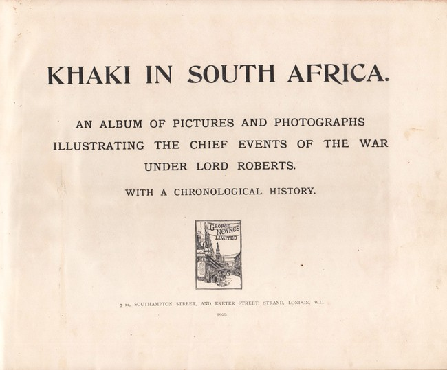 KHAKI IN SOUTH AFRICA