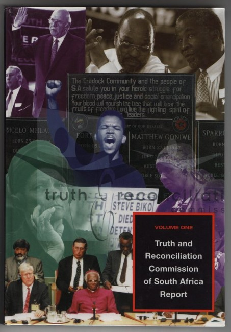 TRUTH AND RECONCILIATION COMMISSION OF SOUTH AFRICA REPORT.