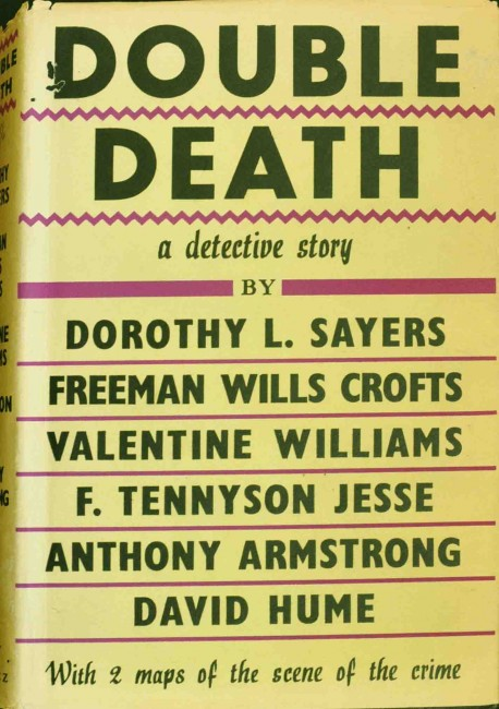 Double Death - Scarce 1st. edition in dw. Dorothy Sayers et.al.