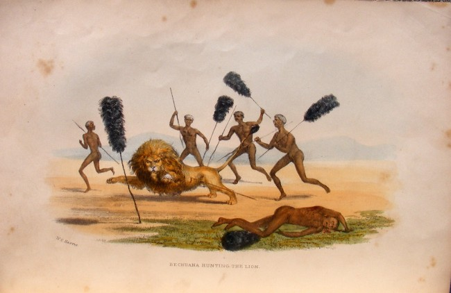 Wild Sports of Southern Africa (1844)