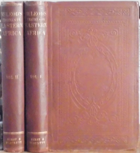 Travels in Eastern Africa, with a Narrative of a Residence in Mozambique,  2 vols
