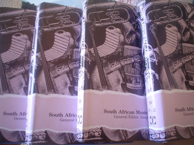 South African Music Encyclopedia 4 volumes