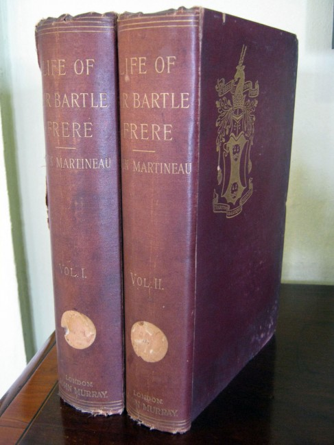 The Life and Correspondence of Sir Bartle Frere - Two vol set (includes letters)