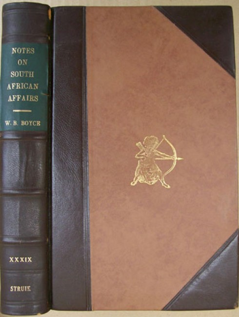 Notes on South African Affairs, From 1834 to 1838