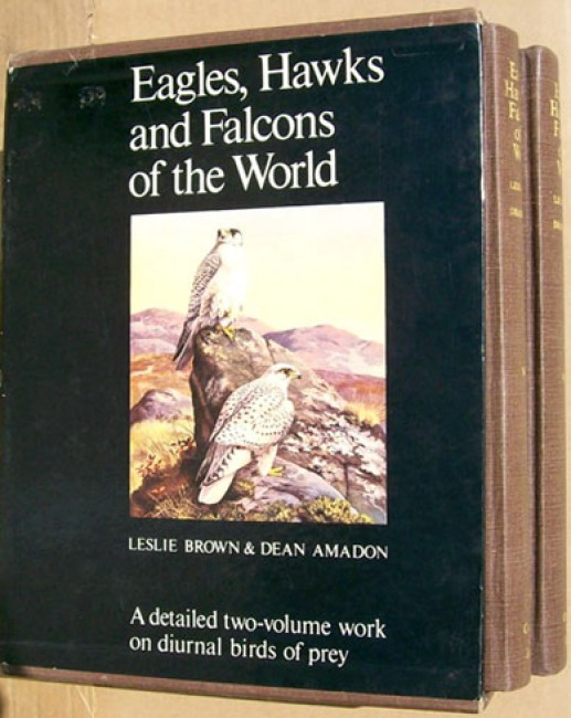 Eagles, Hawks and Falcons of the World - 2 volume set