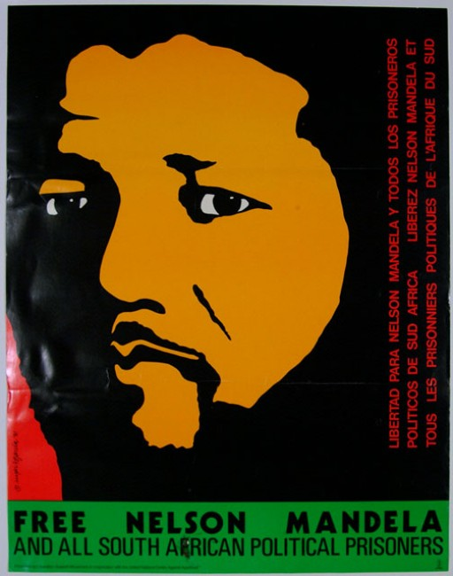 Free Nelson Mandela and all South African Political Prisoners