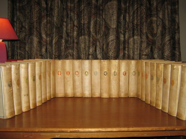Historians' History of the World (1908; complete in 25 vellum-bound volumes) . . .