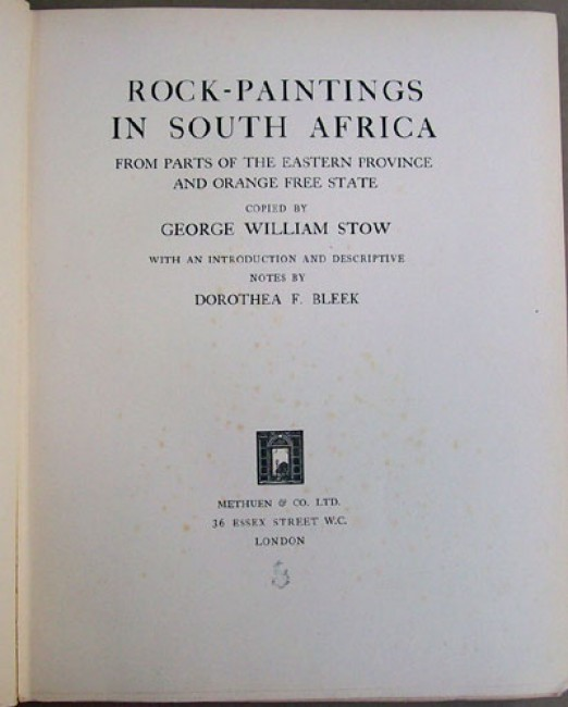 Rock Paintings In South Africa 2 Vol Set Auction 33