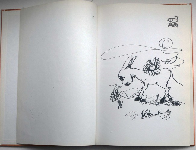 Rendevous - With Original Claerhout Drawing - Auction #34