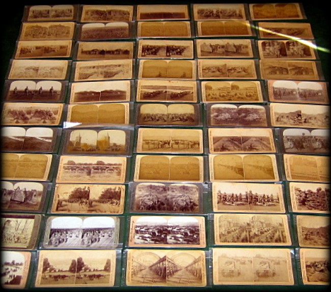 55 ANGLO-BOER WAR STEREOGRAPHS