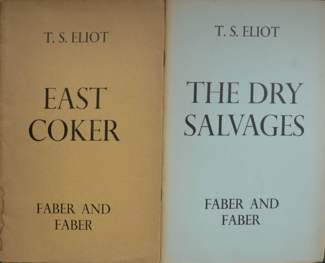Four Quartets - Nice Set 1st. Editions.