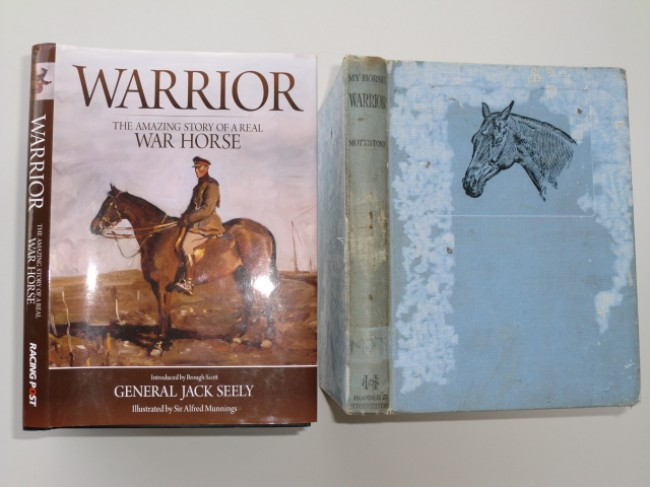 My Horse Warrior (first edition 1934), and Warrior (new 2011 edition)