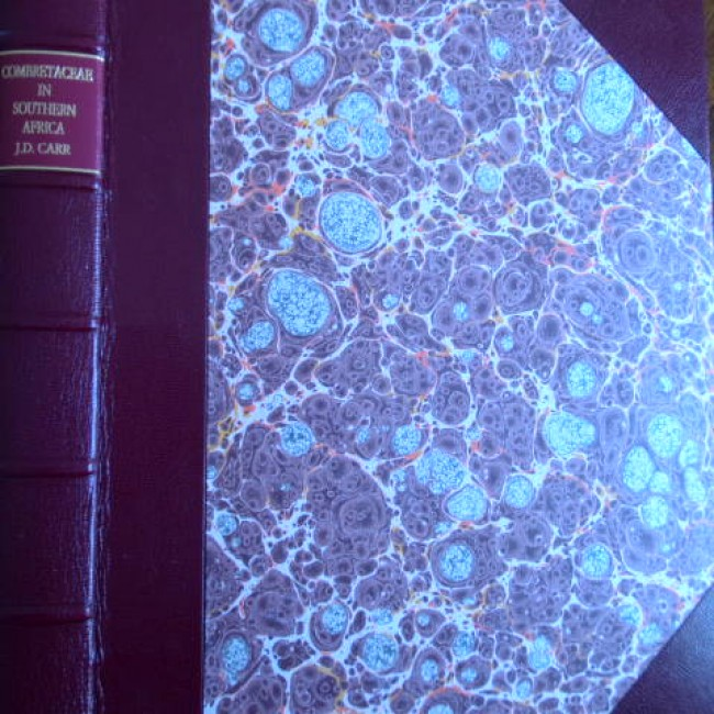 Combretaceae in Southern Africa (de luxe leather edition bound by Peter Carstens)