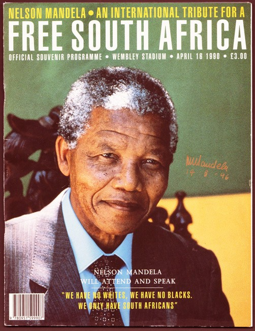 wiki nelson mandela international tribute free south africa
