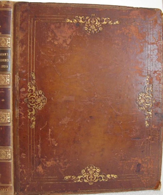 Journal Of A Residence In India Illustrated By Engravings - Auction