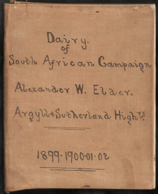 MY DIARY OF SOUTH AFRICAN CAMPAIGN