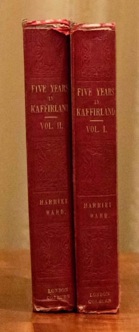 Five Years in Kaffirland (2 vols, first ed, 1848)