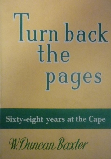 TURN BACK THE PAGES