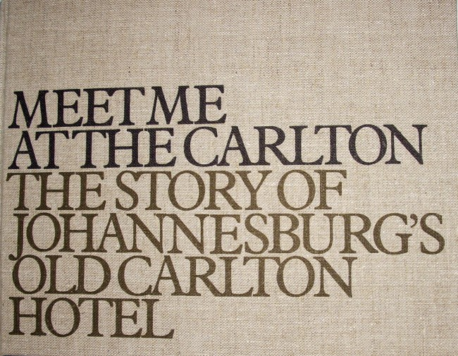 Meet Me at the Carlton (signed, dated & numbered)
