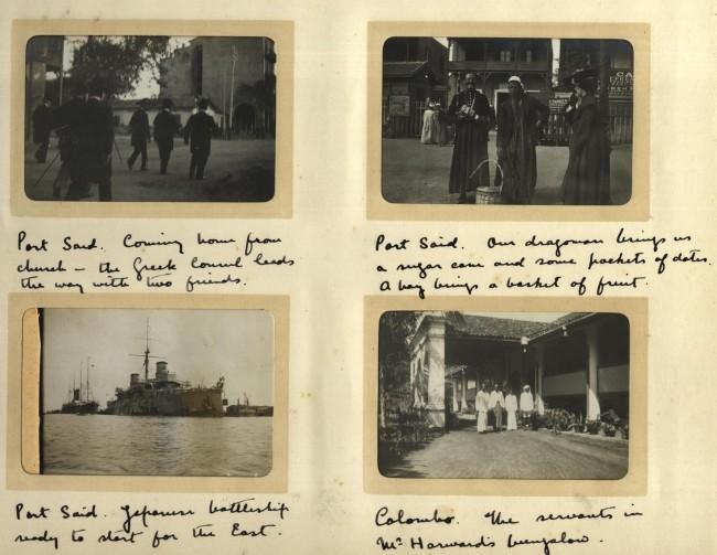 Photoalbum: Voyage from England to Australia January & February 1904.