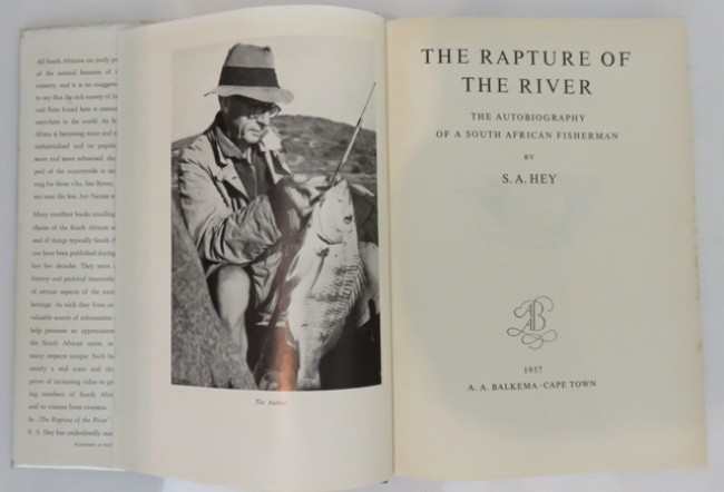 THE RAPTURE OF THE RIVER: