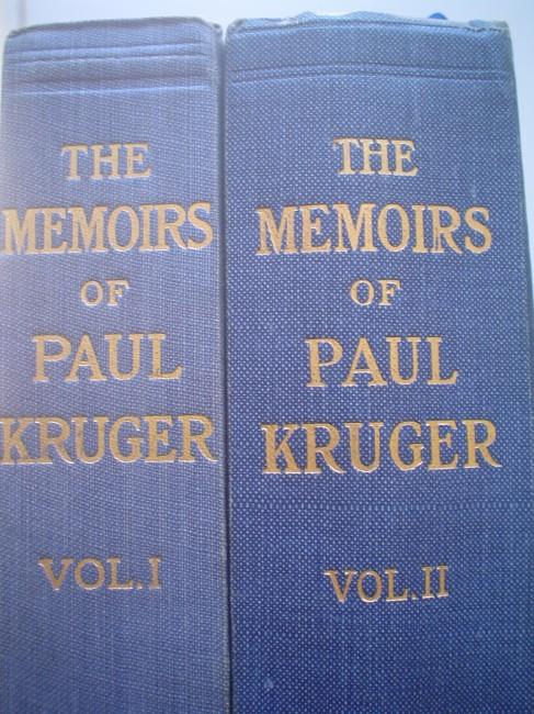 The Memoirs of Paul Kruger