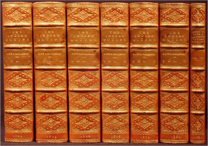 THE INDIAN MUTINY  (Seven Volumes)