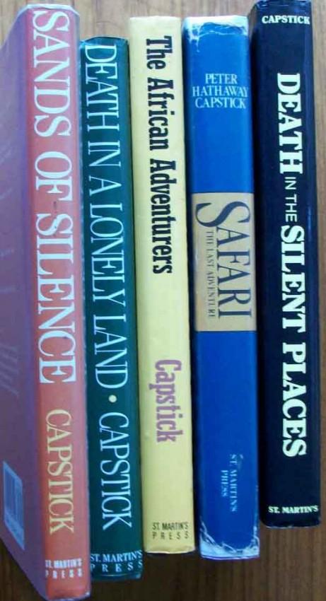 Lot of 5 Hunting & Safari Books