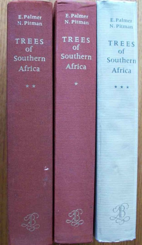 Trees of Southern Africa covering all known indigenous species. 3 Volume set