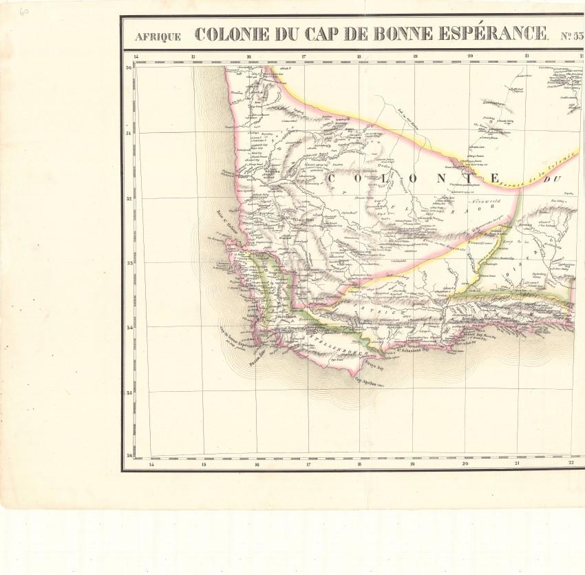 Afrique Cap de Bonne Esperance. No. 53 & No. 54