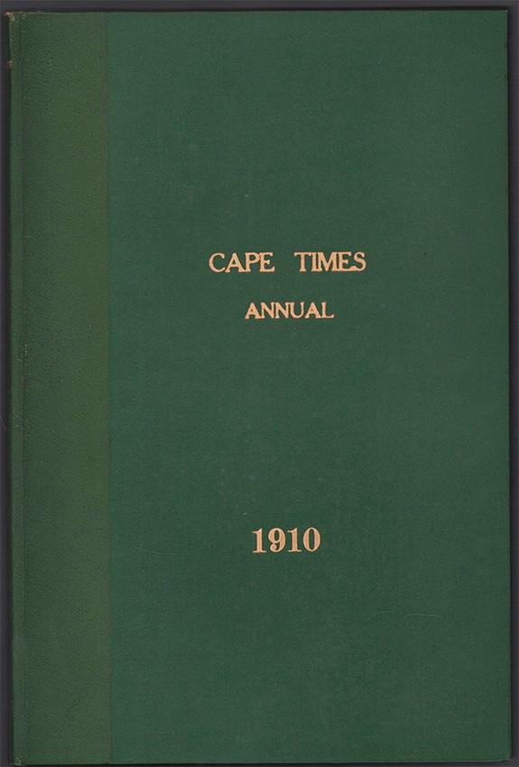 CAPE TIMES ANNUAL 1910