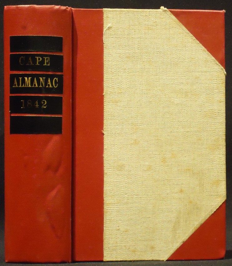 THE CAPE OF GOOD HOPE ALMANAC AND ANNUAL REGISTER FOR 1842
