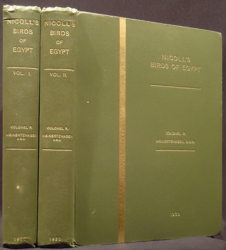 NICOLL'S BIRDS OF EGYPT