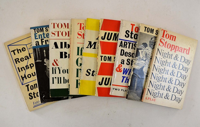 Nine Tom Stoppard First Editions Auction 53 Antiquarianauctions