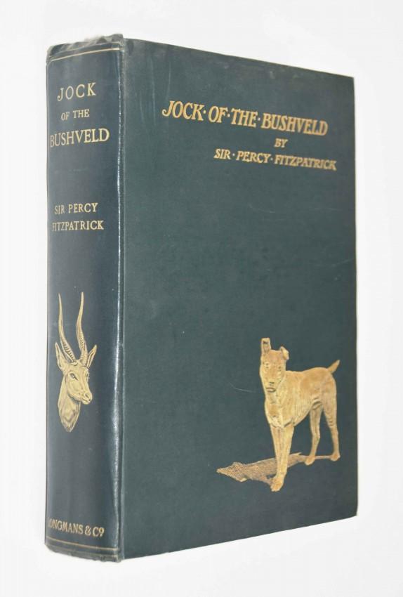 JOCK OF THE BUSHVELD - DENNIS WHEATLEY'S COPY