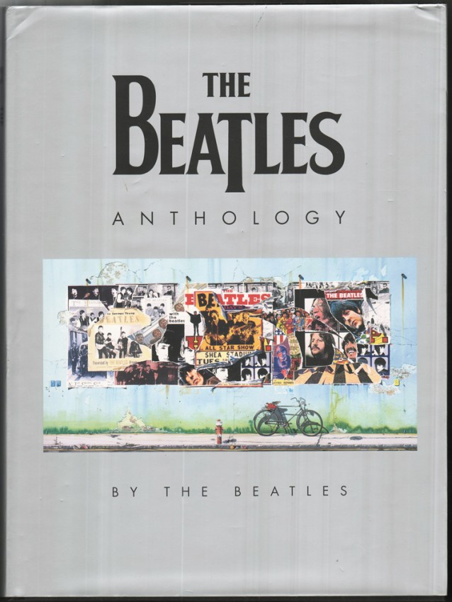 THE BEATLES ANTHOLOGY (Presentation inscription by George Harrison)