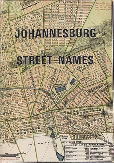 Johannesburg Street Names Auction 56 AntiquarianAuctionscom