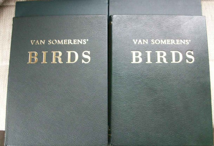 The Paintings of van Someren. Complete Leather Two Volume set Numbered 474/500 copies, with matching slip case.