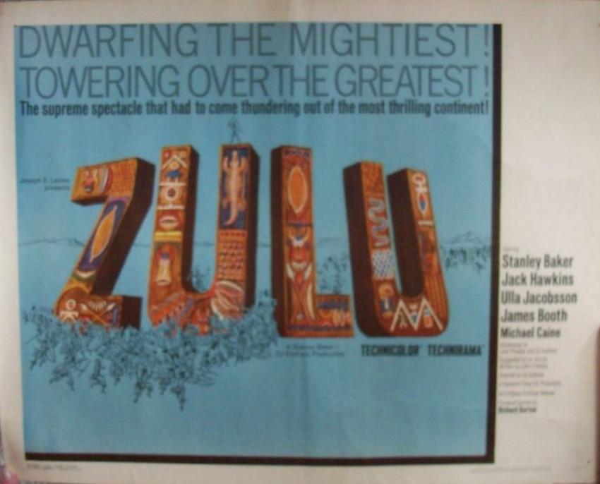 Zulu Film Poster Original Usa 1961 Auction 60
